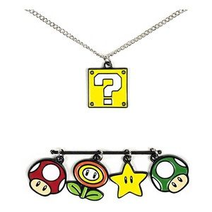 Nintendo • super Mario charm necklace